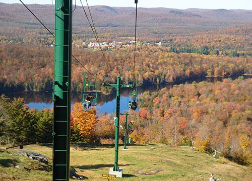 McCauley Mountain Scenic Chairlift Ride